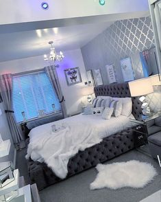 Bedroom Decor For Teen Girls, Cute Bedroom Ideas, Girl Bedroom Designs, Room Ideas Bedroom, Home Decor Bedroom, Bedroom Couch, Interior Livingroom, Girl Bedrooms, Design Bedroom