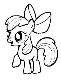 simple my little pony coloring pages fresh my little pony clipart coloring book pencil and in color my similarpages