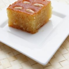 Recipe for Samali (Semolina cake)