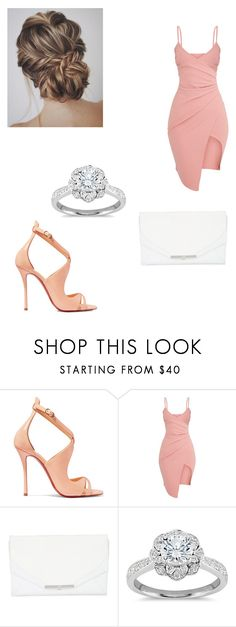 """""""Untitled #452"""" by crispy-cris ❤ liked on Polyvore featuring Christian Louboutin, Khirma Eliazov and Zac Posen"""