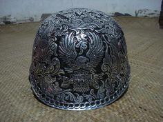 Aluminum Harley Davidson Helmet Handcrafted size by andriyulianto