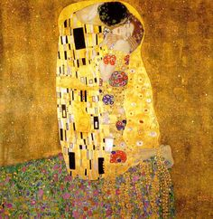 The Kiss - Gustav Klimt - Will always be one of my favs!