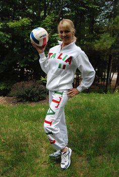 Italia Cadet Sweatshirt in White NOW ON SALE $23.96. WWW.LOVE-THIS-STUFF.COM.  Free Shipping!