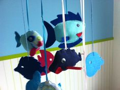 DIY – Fischmobile für Kinder   Push&Coco