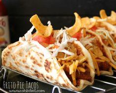 ~Frito Pie Tacos!