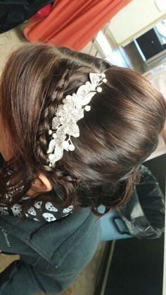 Hair. Updo, curls and Braid 1/2