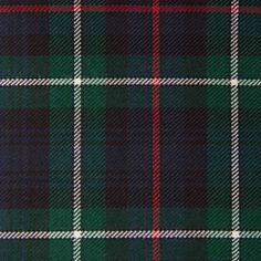 MACKENZIE (Modern) GL018 100% Wool 10.5oz Tartan. Woven in Yorkshire by Marton Mills. Wool Fabric, Design Show, Yorkshire, Tartan, Swatch, Weaving, Pure Products, Quilts, Modern