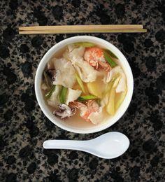 """ Sujebi (수제비) / Hand-Torn Noodle Soup """