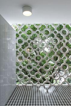 Cobogó lindo em prédio vintage nos Jardins, SP. #cobogo #arquitetura #saopaulo