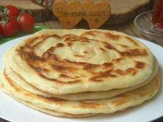Tavada Mayalı Katmer Vegetable Recipes, Tiramisu, Deserts, Biscuits, Food And Drink, Bread, Vegetables, Cooking, Breakfast