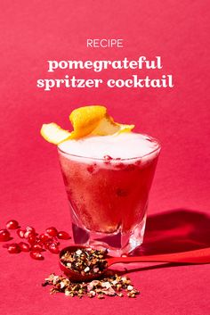 Pomarnier Spritzer Cocktail Recipe - Steep Thoughts Cocktail Recipes, Cocktails, Drinks, Liqueur, Panna Cotta, Tableware, Ethnic Recipes, Food, Thoughts