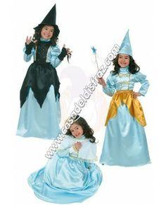 Disfraz 3 en 1, Reina, Bruja y Hada para niñas. #DisfracesOriginales #Disfraces www.casadeldisfraz.com Princesas Disney, Disney Characters, Fictional Characters, Snow White, Disney Princess, Anime, Witch, Fairies, Anime Shows