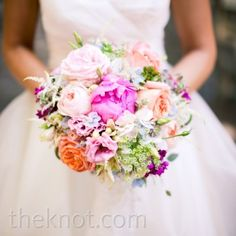 40 Of The Best Bridal Bouquets We Have Ever Seen A Freshly Picked Bouquet – The Knot