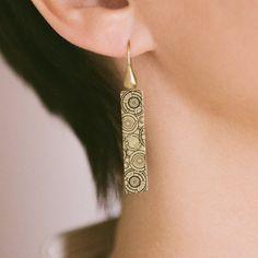 Steampunk Gallifrey Time Lord Earrings Whovian by JezebelCharms