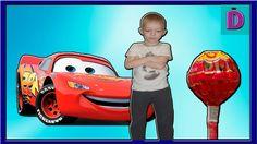 Тачки и БОЛЬШИЕ Чупа Чупсы Cars and LARGE Chupa  Chups