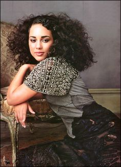 This is my what my hair  looks like nowadays... I just love it!!!! (Alicia Key's hair)