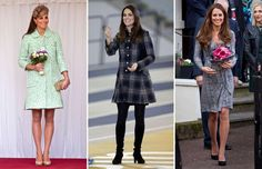 A selection of the most stylish fashion choices by Catherine, Duchess of Cambridge, over the years. Looks Kate Middleton, Duchess Of Cambridge, Dresses With Sleeves, Shirt Dress, Stylish, Long Sleeve, Shirts, Fashion, Dress Ideas
