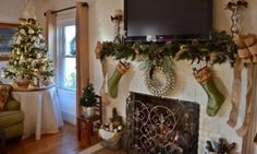 HomeGoods | How to Make Your Flat Screen TV Festive