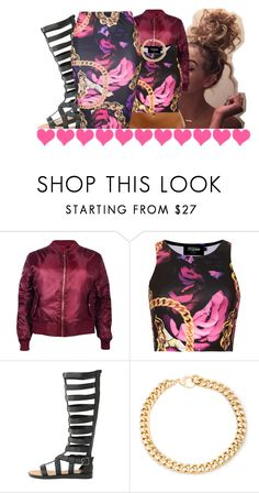 """""""Untitled #429"""" by kaykay47 ❤ liked on Polyvore featuring Boohoo, Topshop, Qupid and Alessandra Rich"""