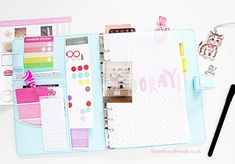 My planner dashboard! - hearthandmadeuk