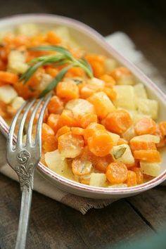 Eine glücklichmachende Beilage oder Gemüsesoße zu Nudeln oder Reis ...