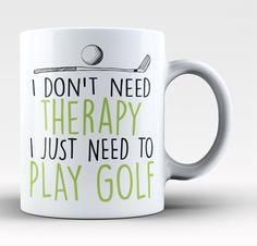 Golf Therapy - Mug