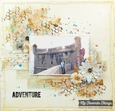 I made this layout for the MFT February Creative Challenge where we were challenged to use our stencils. For more info, please feel free to visit my blog: http://cupcakescreations.blogspot.com/2014/02/adventure.html Thanks for looking :)