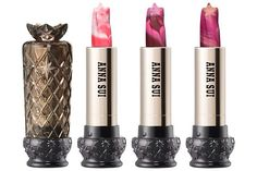 Don't think i could bring myself to use these new Anna Sui lipsticks - they are just too pretty!