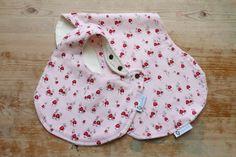 Baby Bib and Burp Cloth Set Baby Girl Gift by RagamuffinsandCo