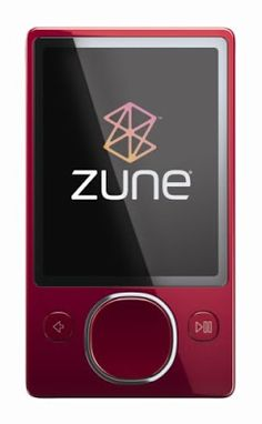 Zune 120 GB Video Player (Red) (Discontinued by Manuf Wireless Headphones For Tv, Running Headphones, Computer Gadgets, Shower Speaker, Mp3 Player, Videos, Audio, Accessories, Organic Gardening
