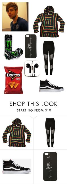 """""""Early Morning Flight With Luke"""" by lovelylunahemmings ❤ liked on Polyvore featuring River Island, Vans and PhunkeeTree"""