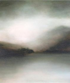 Atmospheric Landscape Paintings inspired by poetry