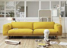 20 salons avec un canapé jaune