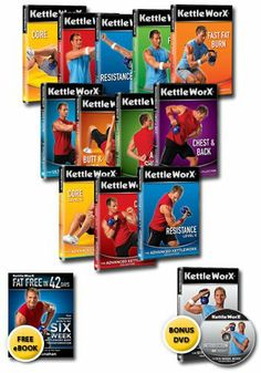 Kettleworx Library 13 DVD set - Six Week Body Transformation http://www.amazon.com/Kettleworx-Library-DVD-set-Transformation/dp/B005FI7ZQO/