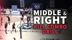 Clinician: Tom Hilbert, head women's volleyball coach at Colorado State University Purpose: To practice middle and right side kill combinations How it works: Set up with two teams of six. Team A receives and must attempt a first ball kill from either the middle or right side attacker. If they succeed, they get a …