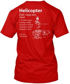 Awesome Helicopter Shirt! | Teespring