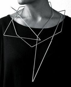 Risultati immagini per articulation sculptural necklace