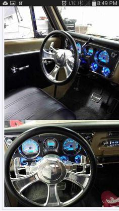 Dash 67-72 chevy truck