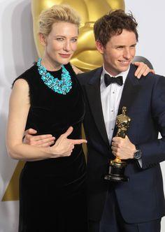 Cate Blanchett & Eddie Redmayne