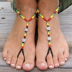 Love these rasta colored shoes(: