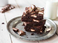 Wenn Milch auf Schokolade trifft ... Brownies mit kinder Riegel
