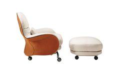 www.pegasebuzz.com | Equestrian Lifestyle : tLouisiana armchair | Designer : Vico Magistretti