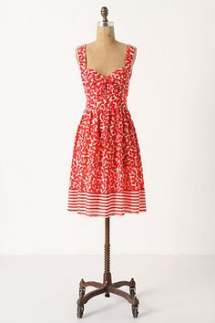 Sun-Ripened Cover-Up #anthropologie--A cover-up cute enough to be a dress.