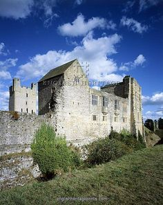 Helmsley Castle, North Yorkshire, UK was built in 1154 by Walter l'Espec