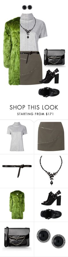 """""""Untitled #374"""" by starlightdoh ❤ liked on Polyvore featuring Maison Margiela, Jay Ahr, Ben-Amun, MM6 Maison Margiela and Genevieve & Grace"""