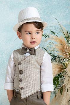 Baby Boy Suit, Baby Boy Dress, Baby Girl Dress Patterns, Baby Boy Outfits, Little Boy Fashion, Kids Fashion, Baby Boy Christening Outfit, Boys Dress Clothes, Kids Party Wear Dresses