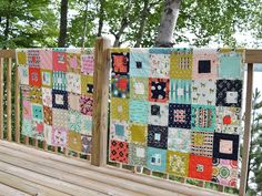 Tango pattern by Cluck Cluck Sew.  Modern quilt  Baby quilt