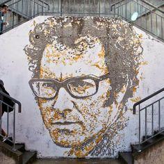 José Afonso. El nuevo mural de Vhils en Portugal