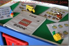 great game- download lego creation instructions from lego website and have kids build them