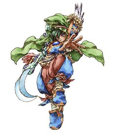 Elazul from Legend of Mana
